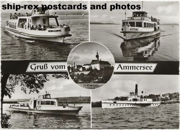 Ammersee, multi-view postcard
